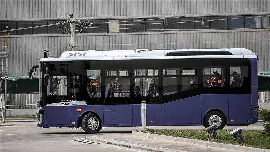 Avrupa ve Amerika'nın ilk seri üretim sürücüsüz otobüsü Otonom Atak Electric yollara çıkıyor