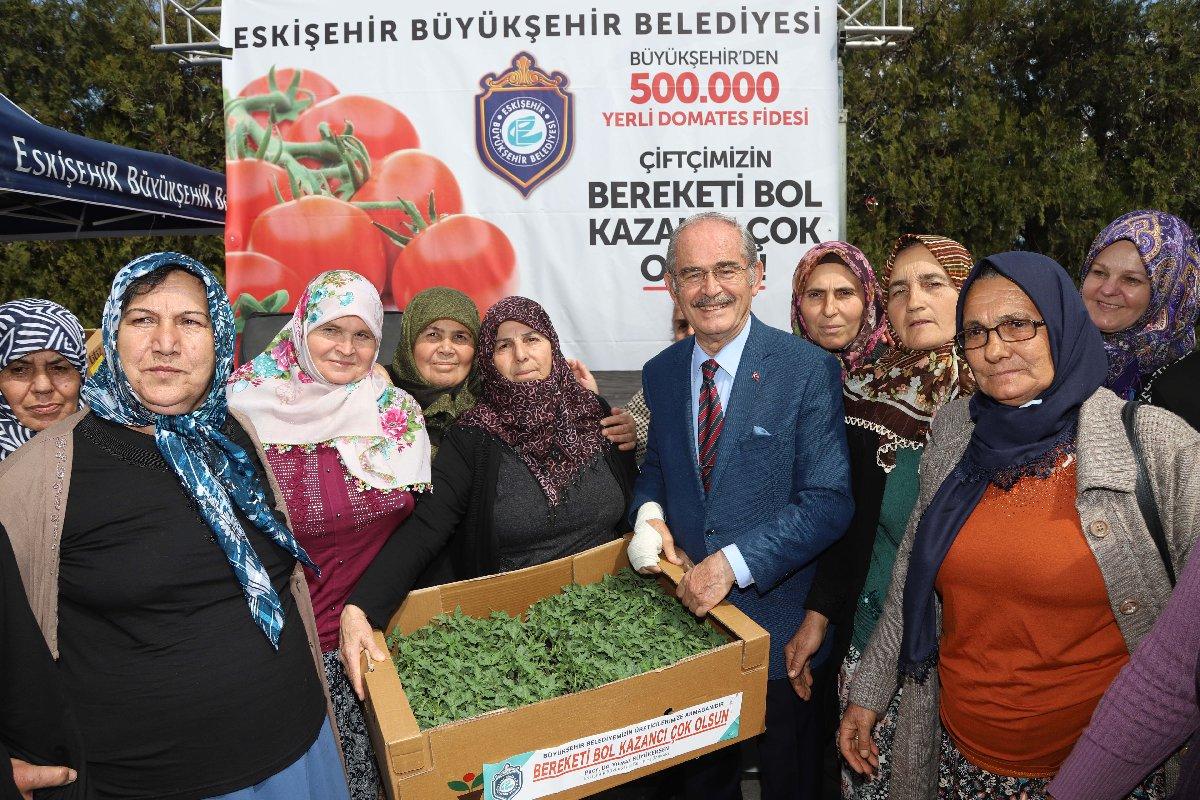 Eskişehir'de yerli tohumlar üreticilerle buluştu