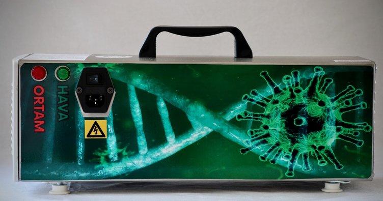Iğdır Üniversitesinden yerli dezenfeksiyon cihazı hamlesi