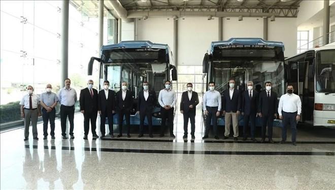İlk yerli elektrikli otobüs banttan indi