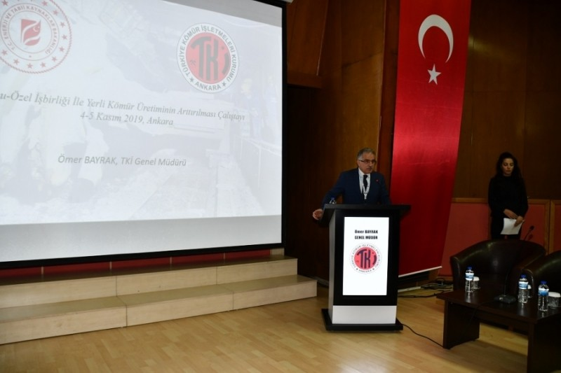 """Kamu-özel işbirliği ile """"YERLİ KÖMÜR"""" üretiminin arttırılması çalıştayı düzenlendi"""