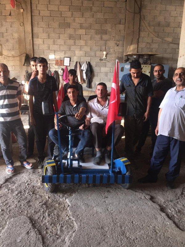 Mardin'in ilk yerli otomobili