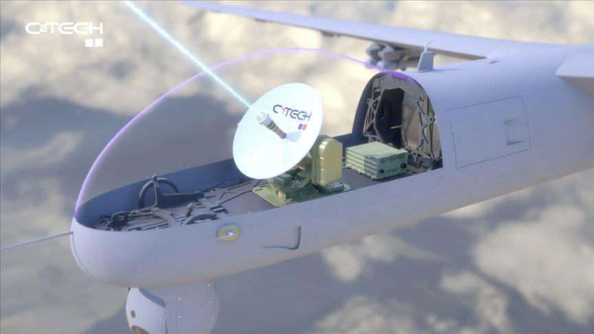 Milli İHA'lar yerli uydu terminaline kavuştu