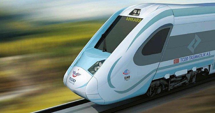 Milli ve yerli tren atağa kalktı