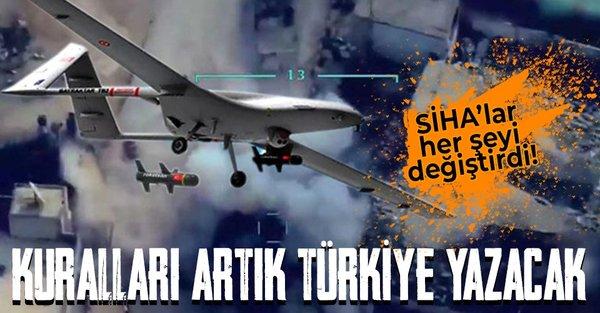 SİHA'lar her şeyi değiştirdi! Kuralları artık Türkiye yazacak! Türkiye ve Ukrayna arasında dev ortak