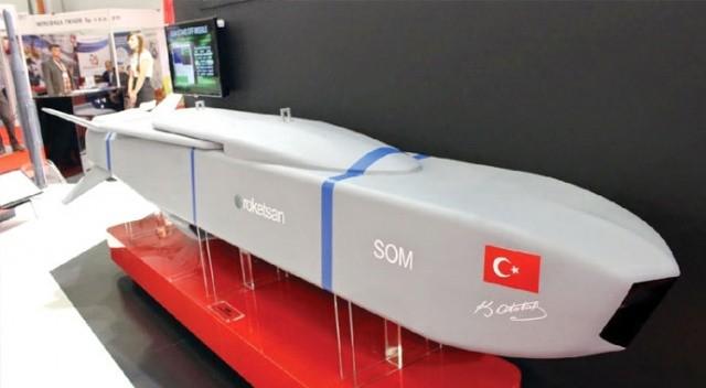 SOM-J füzeleri yerli uçakta kullanılabilir