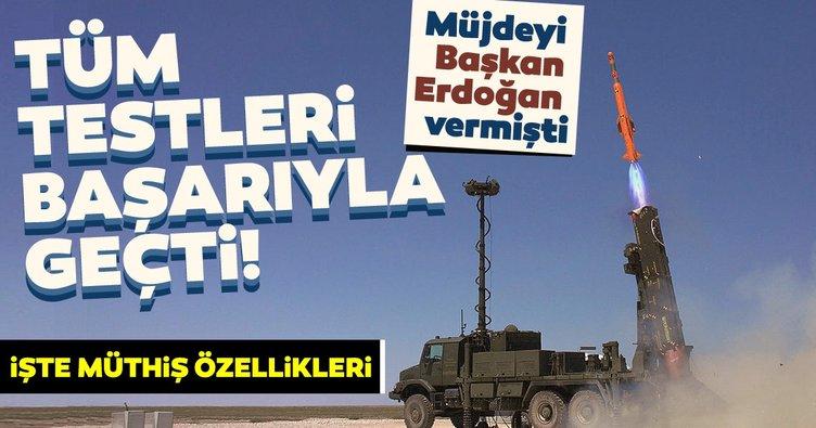 Son dakika haberi: Müjdeyi Başkan Erdoğan vermişti! Tüm testleri başarıyla geçti...