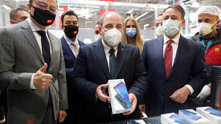 TCL, Türkiye'de Akıllı Telefon Üretimine Başladı!