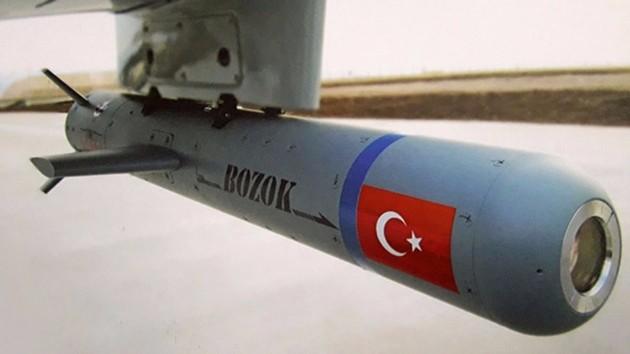 """Tübitak'tan yerli insansız hava araçlarına Yerli Füze """"BOZOK"""""""