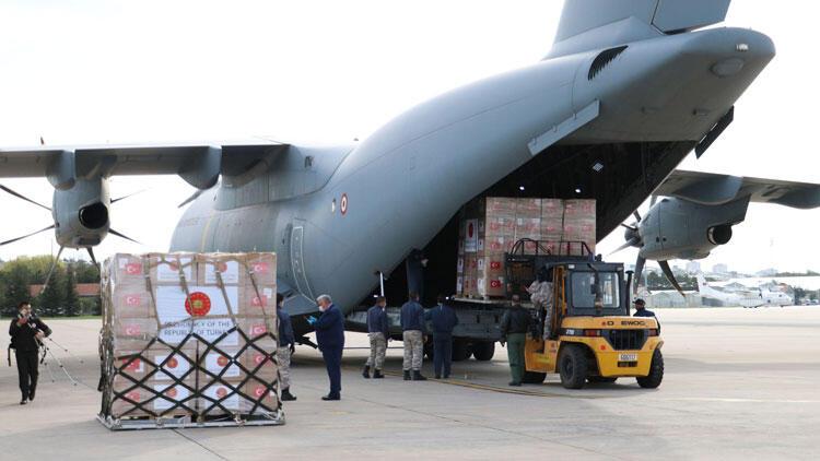 Türkiye'den 5 ülkeye daha yardım malzemesi