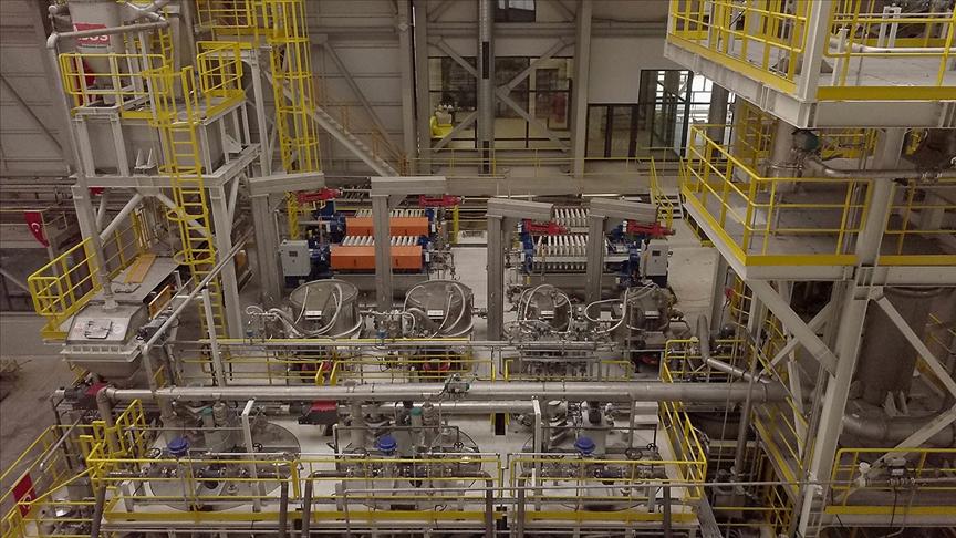 Türkiye'nin ilk lityum üretim tesisi yarın törenle açılacak