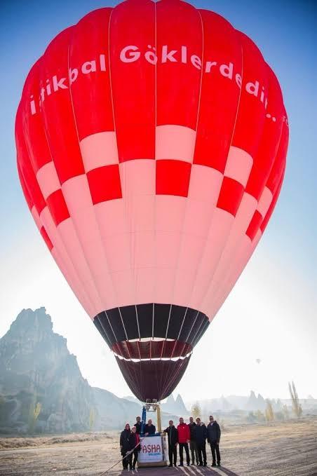 Türkiye'nin İlk Yerli Balonu Kapadokya'da Havalandı