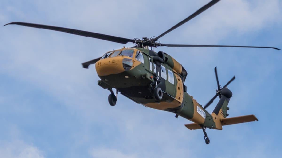 Yangın söndürme için yerli İHA ve helikopter