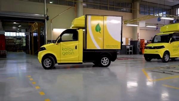 Yerli elektrikli kamyonet, Amazon Türkiye'nin de dağıtımını yapan Ekol Lojistik filosunda