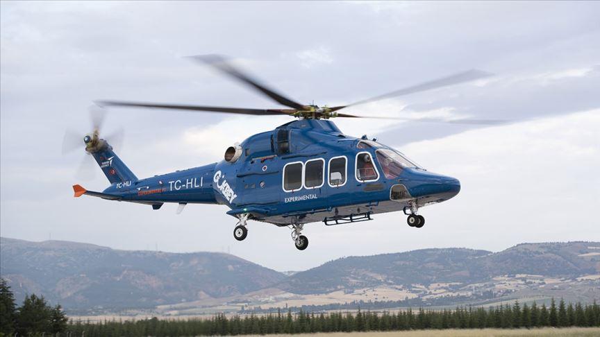 Yerli helikopterimiz Gökbey'e yerli pervane