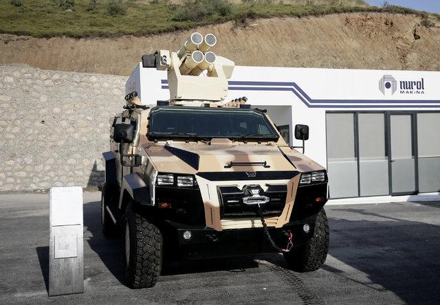 Yerli Üretimde Yeni Zırhlı Araç Yörük
