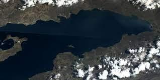 Yerli uydudan Van Gölü fotoğrafı