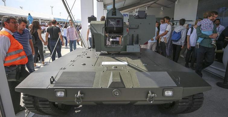 Yerli ve Milli İnsansız Mini Tankımız UKAP geliştiriliyor