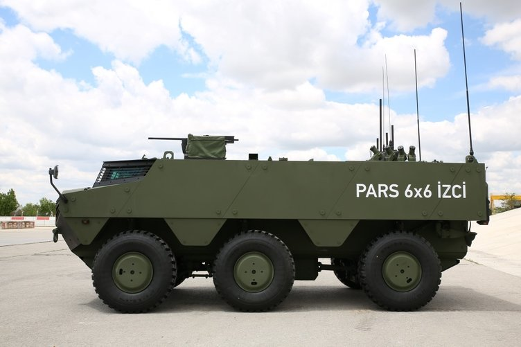 Yerli Zırhlı PARS 6x6 İZCİ uluslararası pazarlara çıkıyor