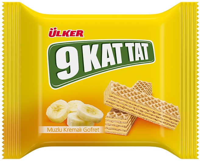Ülker 9 Kat Tat 31g Muzlu Gofret