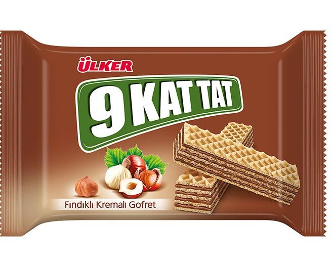 Ülker 9 Kat Tat 47g Fındıklı Gofret