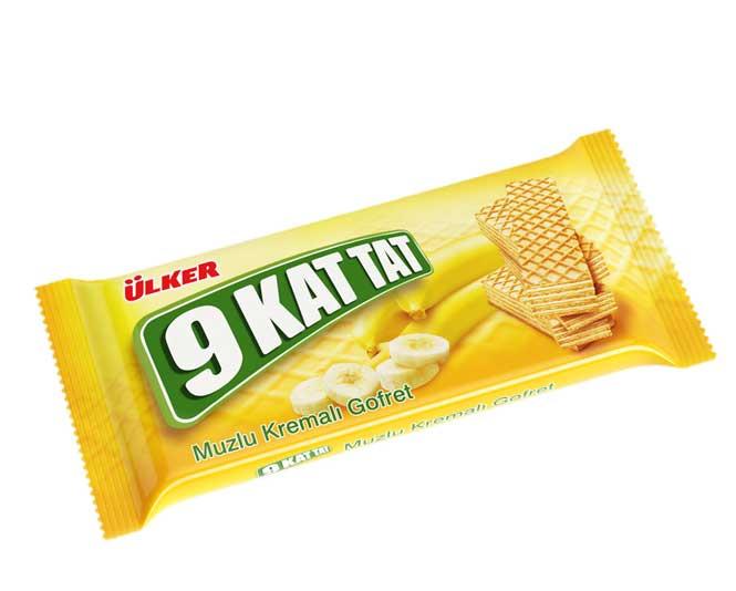 Ülker 9 Kat Tat 70g Muzlu Gofret