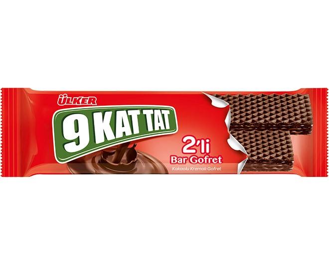 Ülker 9 Kat Tat Bar Gofret 26g Kakaolu Gofret