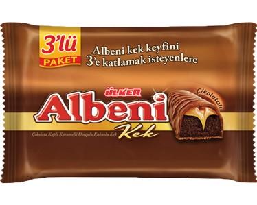 Ülker Albeni Kek 3'lü