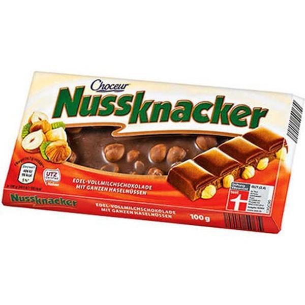 Aldi Nussknacker Fındıklı Sütlü Çikolata 100 gr