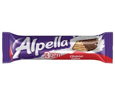 Ülker Alpella 3gen Çikolatalı Gofret