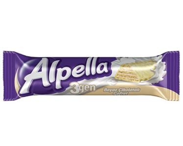 Ülker Alpella 3gen Gofret Beyaz