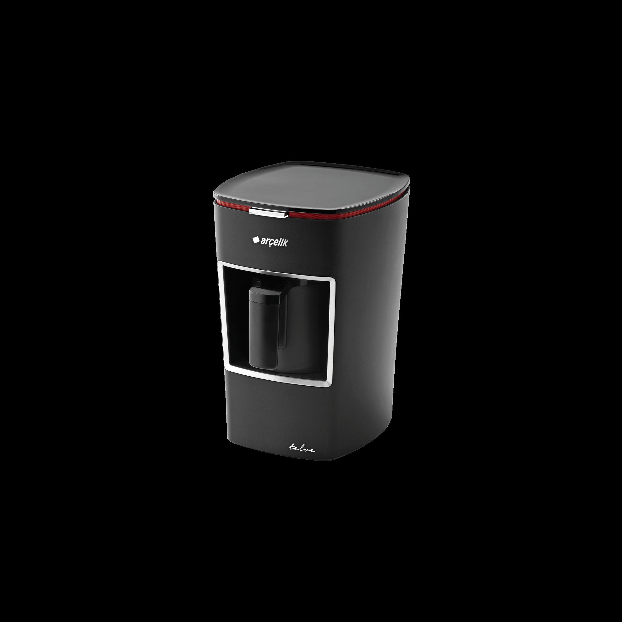 Arçelik Siyah Mini Telve Türk Kahve Makinesi