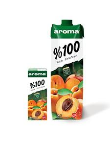 Aroma %100 Kayısı-Elma Suyu