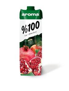 Aroma %100 Nar Elma Suyu