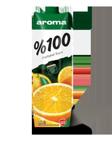 Aroma %100 Portakal Suyu