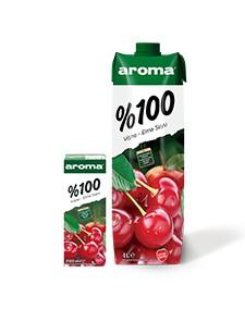 Aroma %100 Vişne-Elma Suyu
