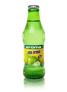 Aroma Elma Aromalı Doğal Mineralli Gazlı İçecek