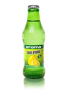 Aroma Limon Aromalı Doğal Mineralli Gazlı İçecek