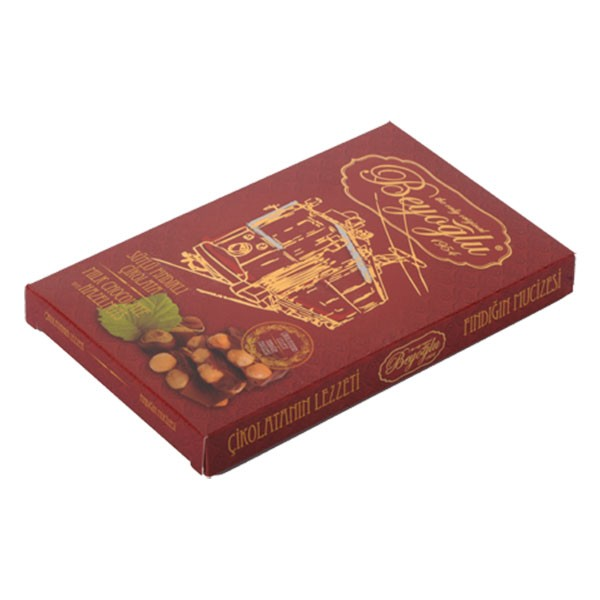 Beyoğlu Çikolatacısı Fındıklı Sütlü Çikolata 100 gr