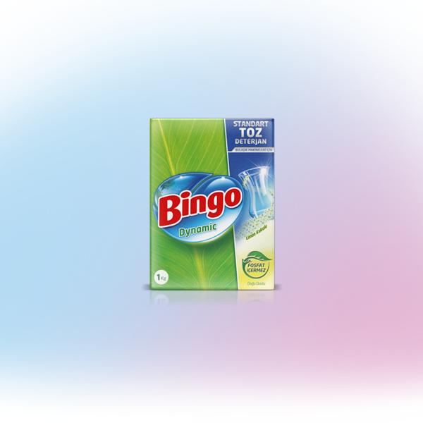 Bingo Dynamic Standart Makine Toz Deterjan Limon Kokulu