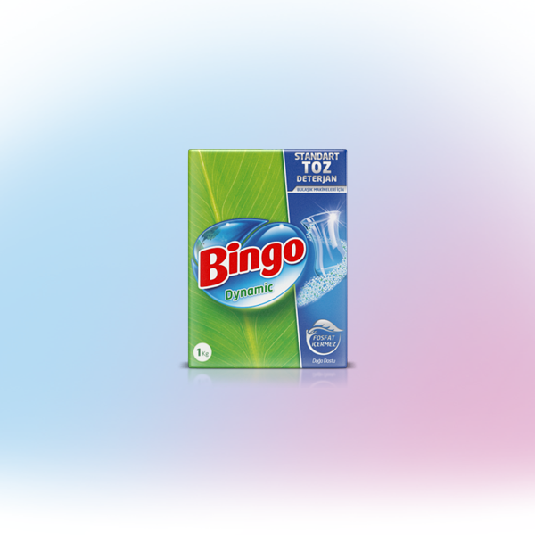 Bingo Dynamic Standart Makine Toz Deterjan