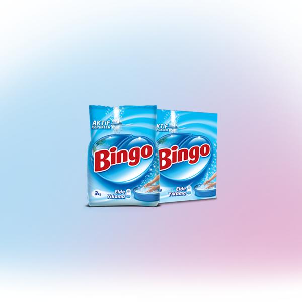 Bingo Elde Yıkama Toz Çamaşır Deterjan