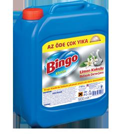 Bingo Klasik Limon Kokulu Büyük Sıvı Bulaşık Deterjanı