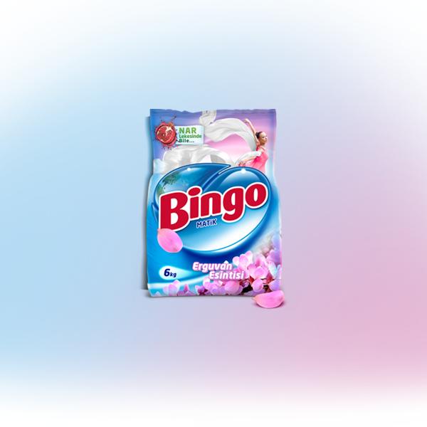 Bingo Matik Erguvan Esintisi Toz Çamaşır Deterjanı