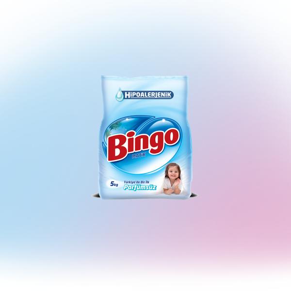 Bingo Matik Parfümsüz Toz Çamaşır Deterjanı