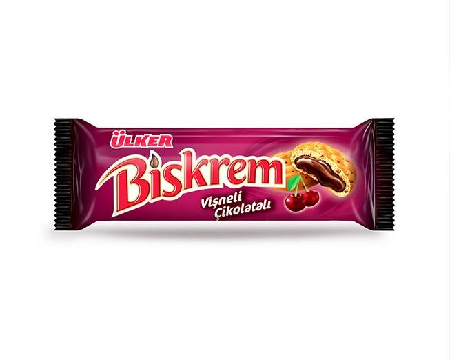 Ülker Biskrem Vişneli Çikolatalı