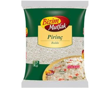 Ülker Bizim Mutfak Baldo Pirinç 2500gr