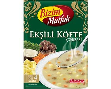 Ülker Bizim Mutfak Ekşili Köfte Çorbası