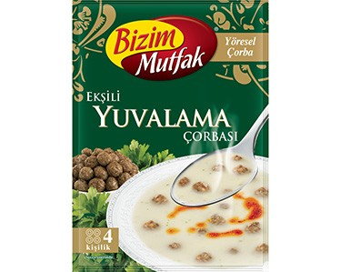 Ülker Bizim Mutfak Ekşili Yuvalama Çorbası