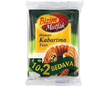 Ülker Bizim Mutfak Hamur Kabartma Tozu 12'li Paket